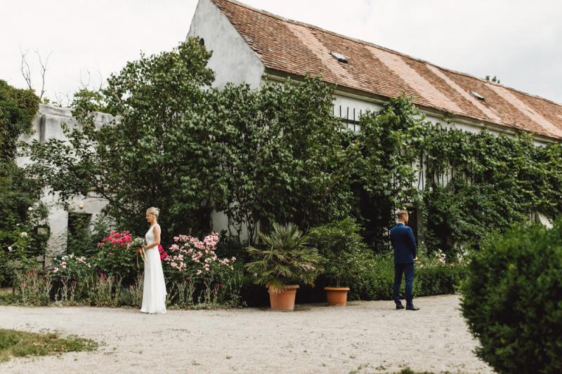 Hochzeitsfotografie von Sabine & Felix - Schloss Mühlbach / Niederösterreich