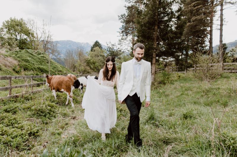 Hochzeitsfotografie von Kyriaki & Rait - Kärnten